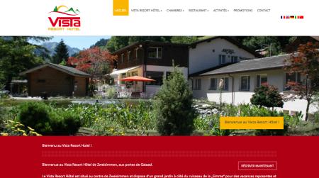 Preview site Hôtel Vista