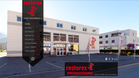 Preview site restorex.ch